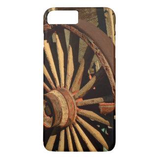 Coque iPhone 8 Plus/7 Plus Chariot antique de train de mule