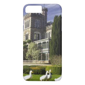 Coque iPhone 8 Plus/7 Plus Château de Larnach, péninsule d'Otago, Dunedin,