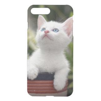 Coque iPhone 8 Plus/7 Plus Chaton blanc turc (2,5 mois)