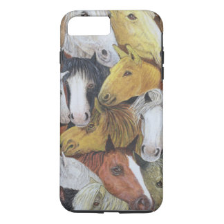 Coque iPhone 8 Plus/7 Plus Chevaux de chevaux