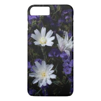 Coque iPhone 8 Plus/7 Plus Chicorée et fleurs sauvages de Phacelia