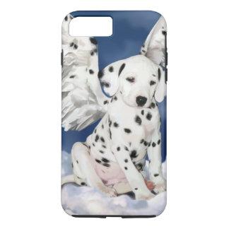 Coque iPhone 8 Plus/7 Plus Chiot dalmatien d'ange