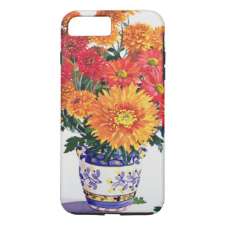 Coque iPhone 8 Plus/7 Plus Chrysanthèmes d'octobre