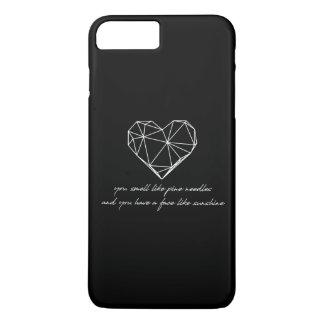 Coque iPhone 8 Plus/7 Plus Citation de demoiselles d'honneur - aiguilles de