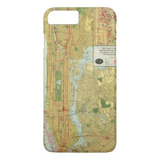 Coque iPhone 8 Plus/7 Plus Coeur de New York