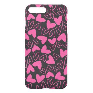 Coque iPhone 8 Plus/7 Plus Coeurs