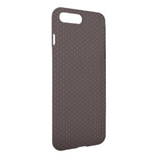 Coque iPhone 8 Plus/7 Plus Conception florale de Brown