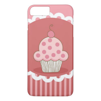 Coque iPhone 8 Plus/7 Plus Conception rose de petit gâteau