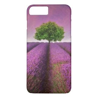Coque iPhone 8 Plus/7 Plus Coucher du soleil d'été de paysage de gisement de