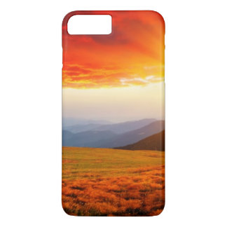 Coque iPhone 8 Plus/7 Plus Coucher du soleil majestueux dans le paysage 5 de