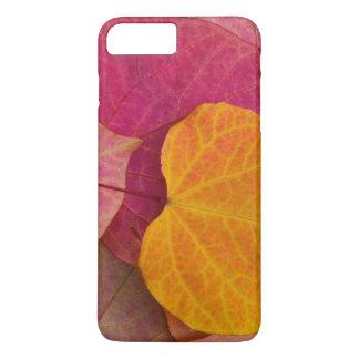 Coque iPhone 8 Plus/7 Plus Couleur de chute sur la pensée Redbud de forêt