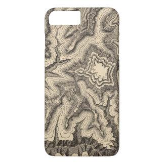 Coque iPhone 8 Plus/7 Plus Courbes, projetant des tranchants des murs