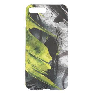 Coque iPhone 8 Plus/7 Plus Courses expressives de brosse de texture grunge