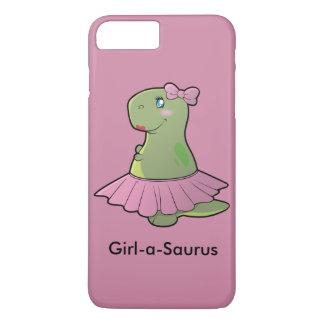 Coque iPhone 8 Plus/7 Plus Couverture de téléphone de T-Rex de dinosaure de