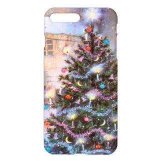 Coque iPhone 8 Plus/7 Plus Cru d'arbre de Noël