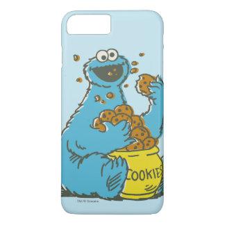 Coque iPhone 8 Plus/7 Plus Cru de monstre de biscuit