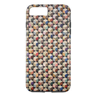 Coque iPhone 8 Plus/7 Plus Cubes en téléphone