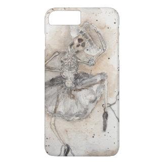Coque iPhone 8 Plus/7 Plus danses de squelette de ballet