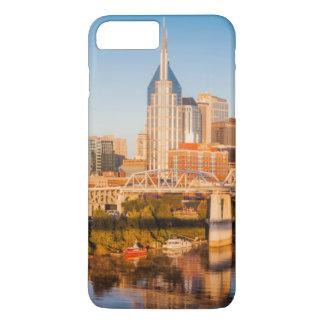 Coque iPhone 8 Plus/7 Plus Début de la matinée au-dessus de Nashville,