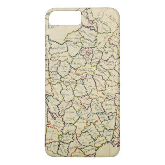 Coque iPhone 8 Plus/7 Plus Départements de la France