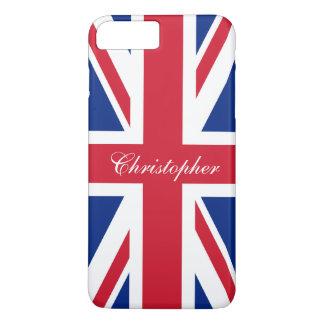 Coque iPhone 8 Plus/7 Plus Drapeau britannique BRITANNIQUE Union Jack du