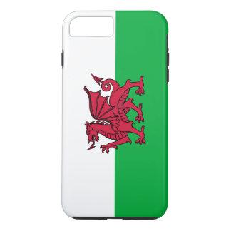 Coque iPhone 8 Plus/7 Plus Drapeau de dragon du Pays de Galles Gallois