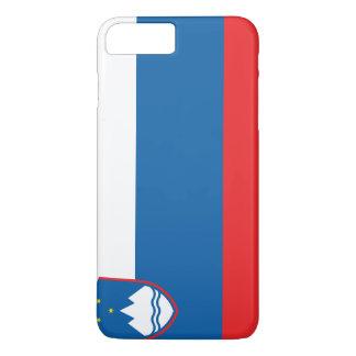 Coque iPhone 8 Plus/7 Plus Drapeau de la Slovénie