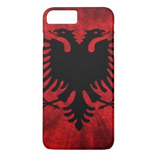 Coque iPhone 8 Plus/7 Plus Drapeau de l'Albanie