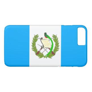 Coque iPhone 8 Plus/7 Plus Drapeau du Guatemala
