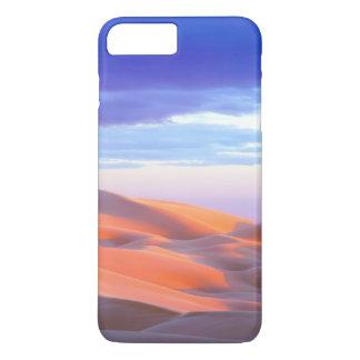 Coque iPhone 8 Plus/7 Plus Dunes de sable de Glamis au coucher du soleil