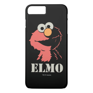 Coque iPhone 8 Plus/7 Plus Elmo demi