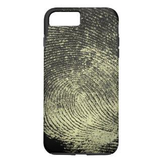 Coque iPhone 8 Plus/7 Plus Empreinte digitale renversée de boucle