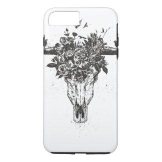 Coque iPhone 8 Plus/7 Plus Été mort (noir et blanc)