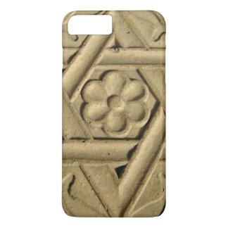 Coque iPhone 8 Plus/7 Plus Étoile de David gravée dans la pierre - judaïsme