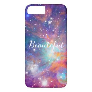 Coque iPhone 8 Plus/7 Plus Étoiles brillantes de nébuleuse impressionnante