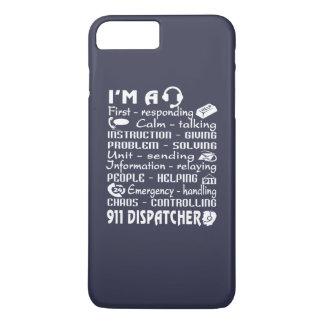 Coque iPhone 8 Plus/7 Plus Expéditeur 911