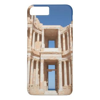 Coque iPhone 8 Plus/7 Plus Façade et étape de l'amphithéâtre romain