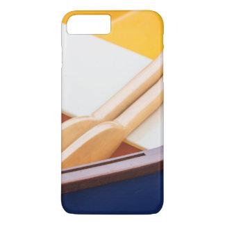 Coque iPhone 8 Plus/7 Plus Festival en bois 2 de bateau d'île de Bainbridge