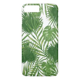 Coque iPhone 8 Plus/7 Plus Feuille tropical