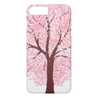 Coque iPhone 8 Plus/7 Plus Fleurs de cerisier élégantes dans le cas de