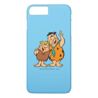 Coque iPhone 8 Plus/7 Plus Flintstone de blocaille et de Fred de prise de bec