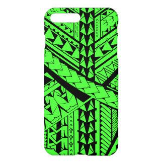 Coque iPhone 8 Plus/7 Plus Formes et symboles tribaux Samoans/polynésiens