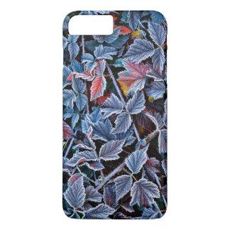 Coque iPhone 8 Plus/7 Plus Frost sur le feuille d'automne, Orégon