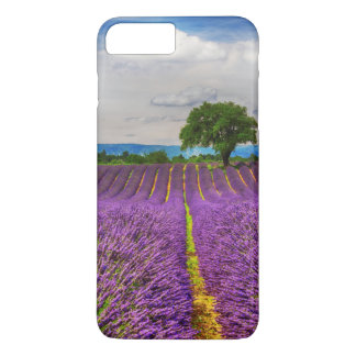 Coque iPhone 8 Plus/7 Plus Gisement de lavande pittoresque, France