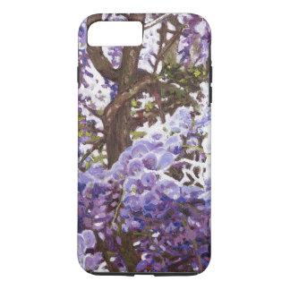 Coque iPhone 8 Plus/7 Plus Glycines bleues 2011
