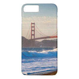 Coque iPhone 8 Plus/7 Plus Golden gate bridge de plage de Baker