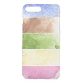 Coque iPhone 8 Plus/7 Plus grand arrière - plan d'aquarelle - peintures