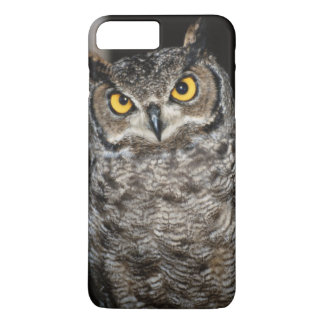 Coque iPhone 8 Plus/7 Plus Grand hibou à cornes 2