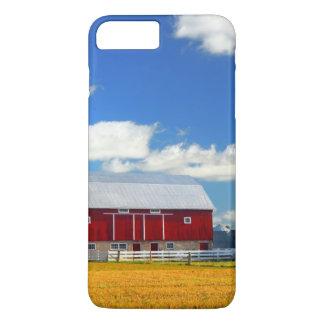 Coque iPhone 8 Plus/7 Plus Grange rouge
