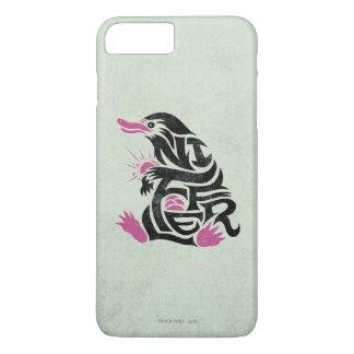 Coque iPhone 8 Plus/7 Plus Graphique de typographie de Niffler